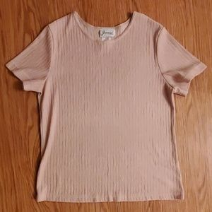 Taupe colored tee